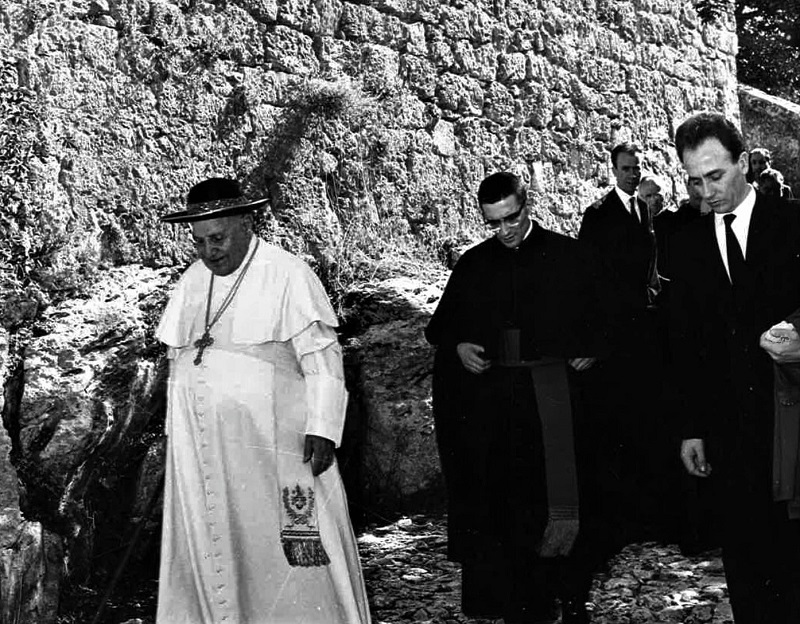 Papa Giovanni XXIII - Servizio